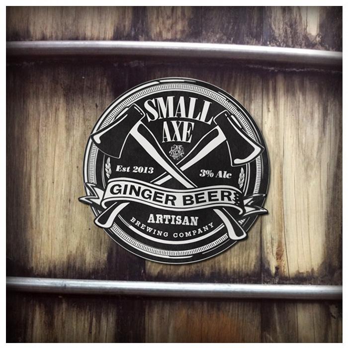 ginger beer label design